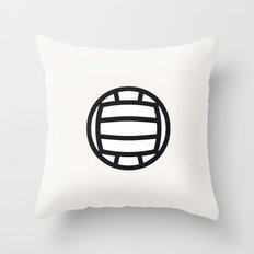 Volleyball - Balls Serie Throw Pillow