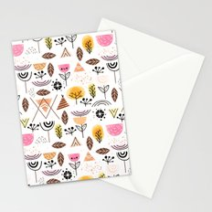 Mid-Century Awesome (Pink) Stationery Cards