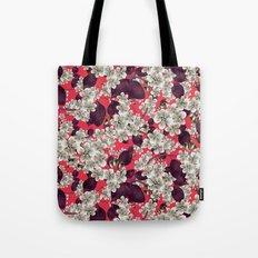 silver blossoms Tote Bag