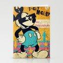 Tricky Mickey Stationery Cards