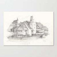 The Magic Town Canvas Print