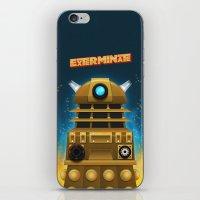 EXTERMINATE iPhone & iPod Skin