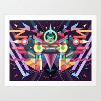 BirdMask Visuals - Falco… Art Print