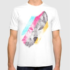 Wild 2 by Eric Fan & Garima Dhawan SMALL Mens Fitted Tee White