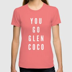 You Go Glen Coco Womens Fitted Tee Pomegranate SMALL