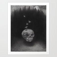 Summerghost Art Print