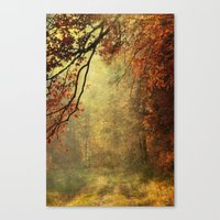 forest glade Canvas Print