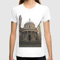 Bramante's Tempietto Womens Fitted Tee White SMALL