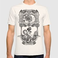 Alchemy Of  Dimensions Mens Fitted Tee Natural SMALL