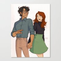 The Potters Canvas Print