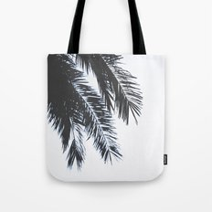 Palm Tree leaves abstract II Tote Bag