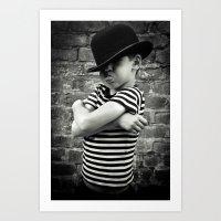 Juvenile Jazz 4 Art Print