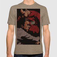 Hello I'm Bob/ fight club/ tyler durden Mens Fitted Tee Tri-Coffee SMALL