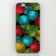 Christmas Ornaments iPhone & iPod Skin