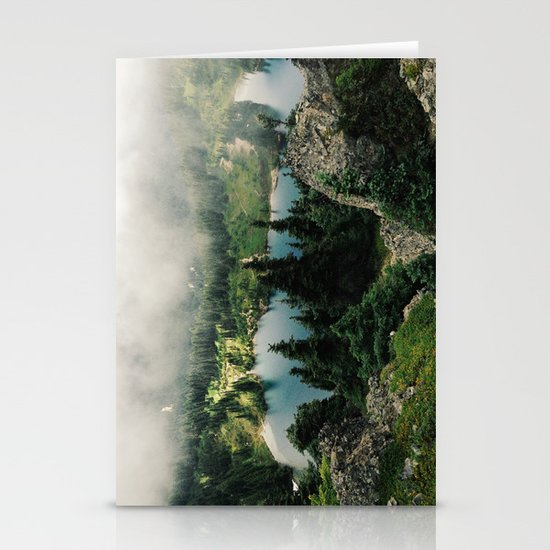 Rainier Eunice Lake Stationery Card