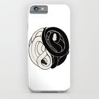 iPhone & iPod Case featuring The Ying and Yang Snake Clan by Caitlion