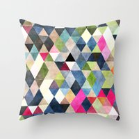 Geometric Cover Throw Pillow