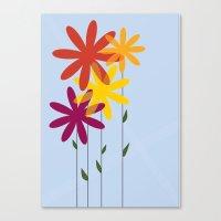 flowers 1-01 Canvas Print
