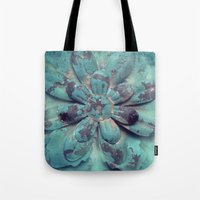 Tin Flower Tote Bag