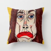 Iggy Pop Throw Pillow