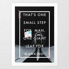 One Small Step Art Print