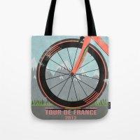 Tour De France Bike Tote Bag