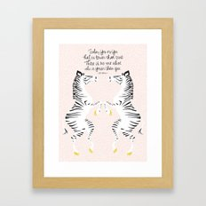 Zebras (Dr. Seuss) Framed Art Print