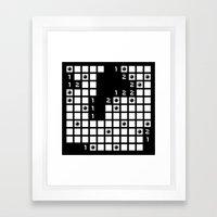 minesweeper Framed Art Print