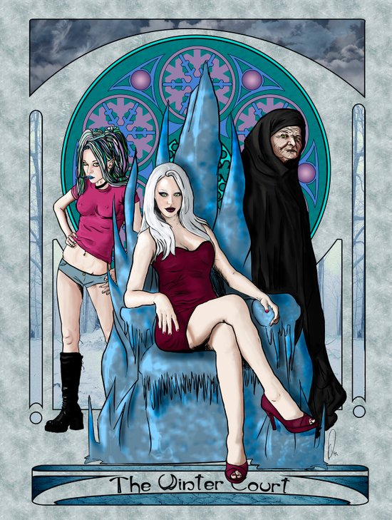 The Winter Court of the Sidhe Art Print