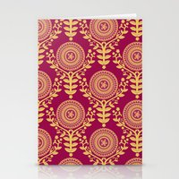 Paper Doily (RED) Stationery Cards