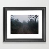 Make Your Way Framed Art Print