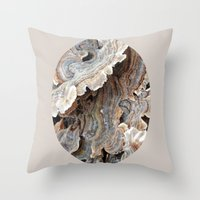 Throw Pillow featuring Fungi II by Rogue Crafter