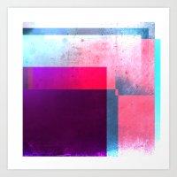 Digital Abstract Art Print