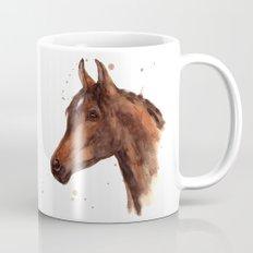 Watercolor HORSE painting, horses, hore art, stallion Mug