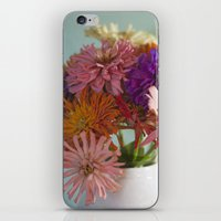 Asters iPhone & iPod Skin