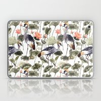Crane & Lotus Laptop & iPad Skin