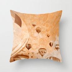Vintage Acrylic Air Ball… Throw Pillow