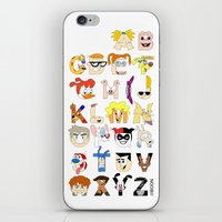Child of the 90s Alphabet iPhone & iPod Skin