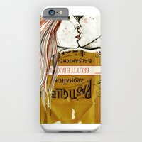iPhone & iPod Case featuring kiss kiss by Amylin Loglisci