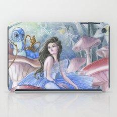 Alice and the Caterpillar iPad Case