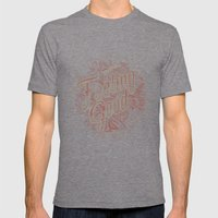Feeling Good Mens Fitted Tee Tri-Grey SMALL