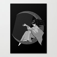 Crescent Melody Canvas Print