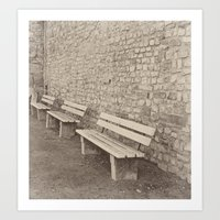 Saving a Seat for You Art Print
