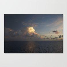 Caribbean Sunrise Canvas Print
