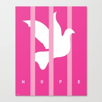 Prisoner of Hope Canvas Print