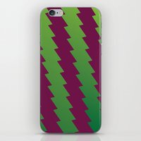 Zig Zags iPhone & iPod Skin