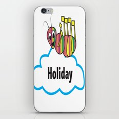 Ant and holiday iPhone & iPod Skin