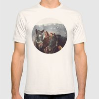 Nuzzle Mens Fitted Tee Natural SMALL