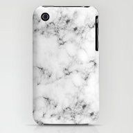 iPhone & iPod Case featuring Real Marble  by Grace