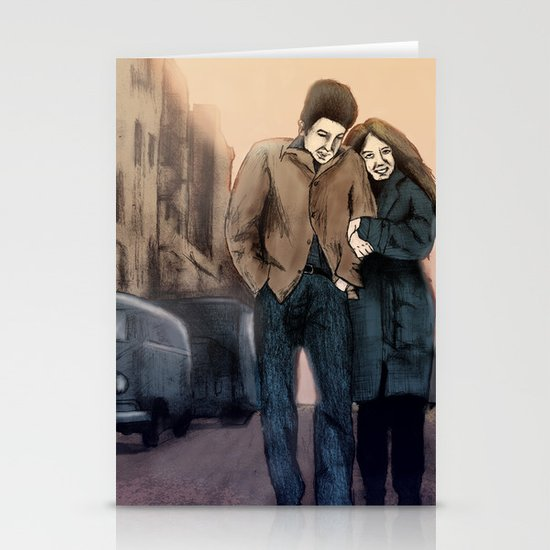 Freewheelin' Stationery Card